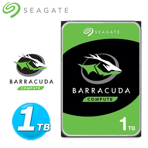 Seagate【BarraCuda】新梭魚 1TB 2.5吋硬碟