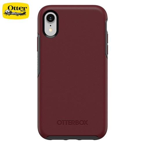 OtterBox iPhoneXR Symmetry防摔殼深紅  77-59821