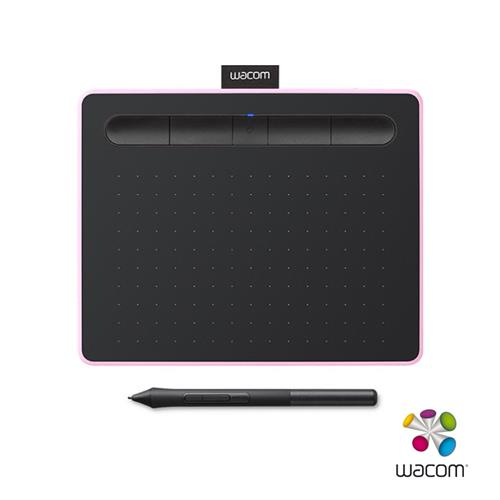 INTUOS COMFORT SMALL繪圖板(粉)  CTL-4100WL/P0-C