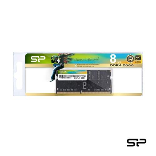 廣穎DDR4-2666 8GB NB用記憶體  SP008GBSFU266B02