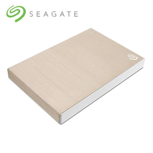 Seagate Backup Plus Slim 2TB硬碟香檳金  STHN2000404